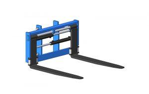 Positionneurs de fourches avec ou sans déplacement latéral (TDL)