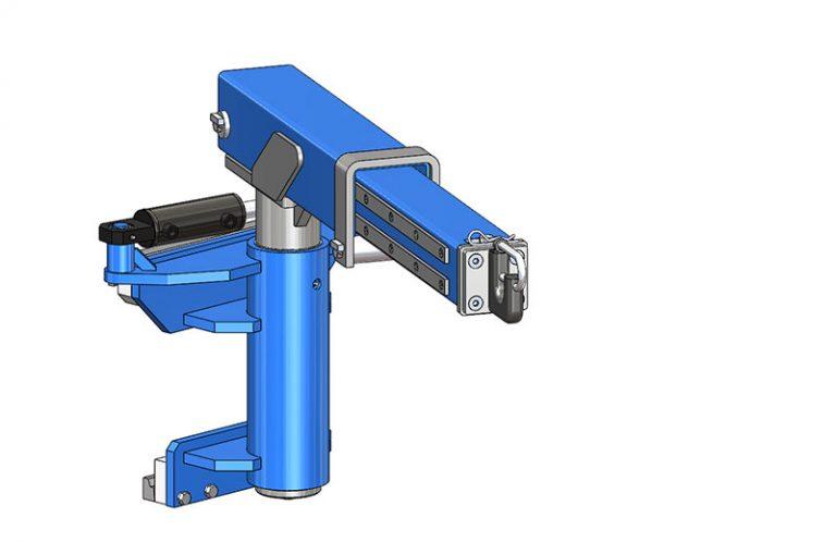 Potence rotative hydraulique